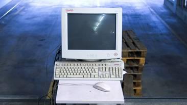 Eine Meldung auf dem Computer führte zum Streit (Symbolbild)