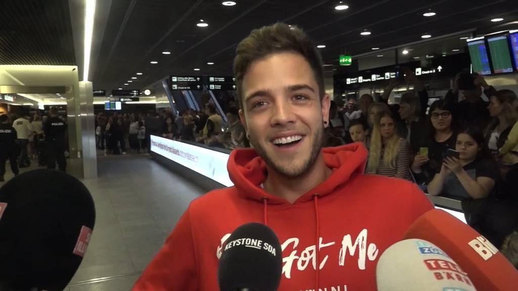 Luca Hänni: «Ich bin immer noch total geflasht»