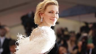 ARCHIV - Cate Blanchett ist Präsidentin der Jury beim 77. Internationalen Filmfestival von Venedig. Foto: Kirsty Wigglesworth/AP/dpa