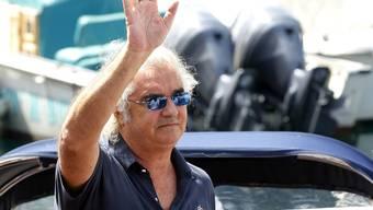 Seine Tochter Leni grüsst Flavio Briatore hier sicher nicht - das Kind mit Heidi Klum hat er noch nie gesehen (Archiv)