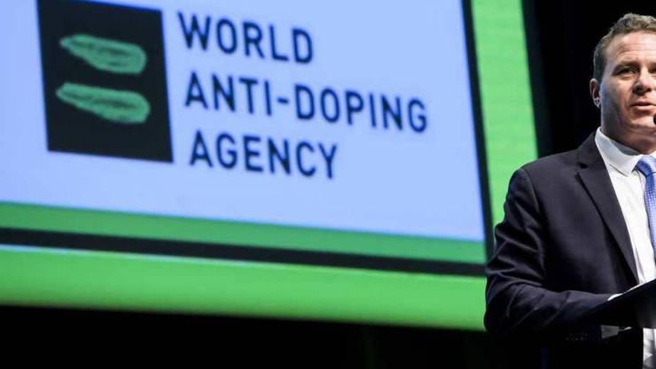 War ebenfalls im Visier der beiden russischen Spione: Die Welt-Anti-Doping-Agentur Wada, die ihren Europa-Sitz in Lausanne hat. Im Bild der ehemalige stellvertretende Generaldirektor Rob Koehler. (Archivbild)
