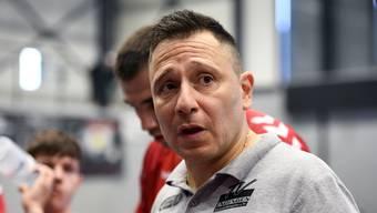 Endingens Trainer Zoltan Majeri lobt die Einstellung seiner Spieler, bemängelt aber die vielen Fehler.