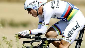 Tony Martin hat die Nase beim ersten Zeitfahren an der Vuelta vorn