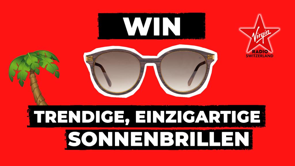 Sei einzigartig und gewinne stylische Sonnenbrillen aus Holz!