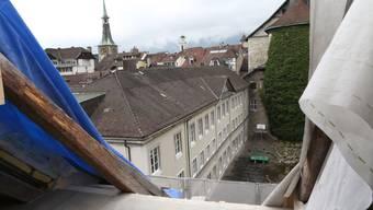 Ein Einblick in die Sanierungsarbeiten am Stadtheater