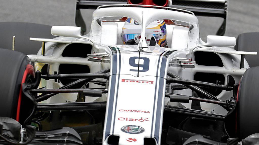 Marcus Ericsson musste das Rennen nach 20 Runden aufgeben