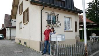 Reto und Helen Eichenberger-Rolli sanieren ihre Liegenschaft in Reinach noch dieses Jahr