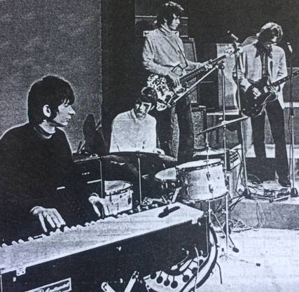 The Shiver 1969 mit Jelly Pastorini, Roger Maurer, Mario Conza und Dany Rühle.