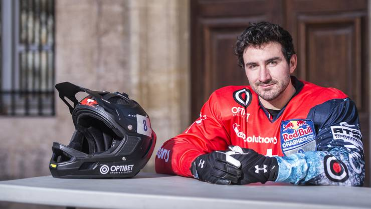 Seit dem vergangenen Wochenende können Kilian Braun und die Icecross-Downhill-Szene auch in der Schweiz trainieren, in Crans-Montana ist ein Trainings-Track entstanden.