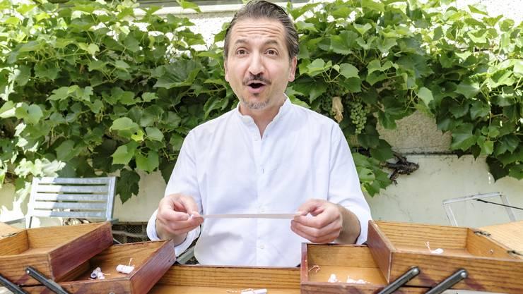 «Oh, toll!» Der Begriff Zeit, den er aus dem Nähkästchen gefischt hat, passt Claudio Del Principe.