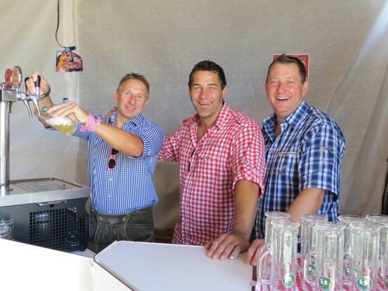 Erst vor zwei Jahren wurde die Chrüpfe-Bier-Brauererei in Obwerwil gegründet. Jetzt hat sie bereits zu wenig Platz, denn ihr Bier ist sehr gefragt
