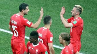 Die Schweiz hat das Ziel Achtelfinal erreicht