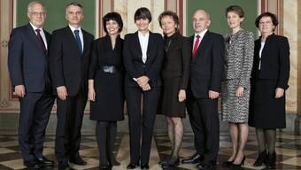 Der Bundesrat im Jahr 2011: Im Gegensatz zu heute war hier die geforderte Quote erfüllt.