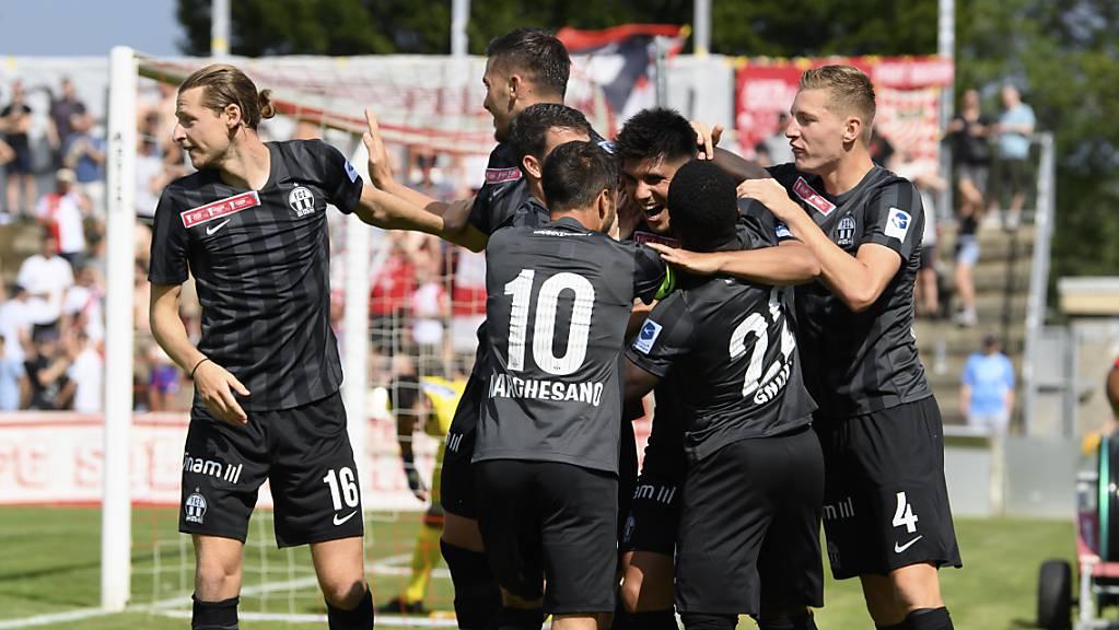 Beim FCZ war Schwarz in Solothurn nicht die Farbe der Trauer, im Gegenteil.