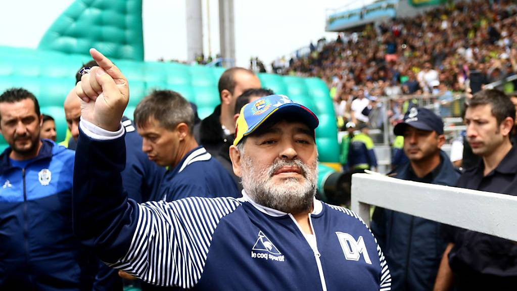 Diego Maradona hatte zuletzt vermehrt mit gesundheitlichen Problemen zu kämpfen.