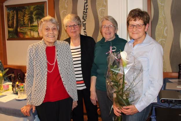 vlnr Agath Lanz, Lisa Niggli, Ruth Rousselbin, Ruth Morf