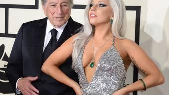 Ein spannendes Bühnenpaar: Lady Gaga und der fast 60 Jahre ältere Tony Bennett sind dieses Jahr am Montreux Jazz Festival zu sehen (Archiv)