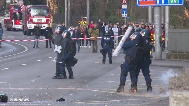 Häuserschlacht bringt mehrere Verletzte