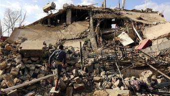 Seit dreieinhalb Jahren tobt der Krieg in Jemen.