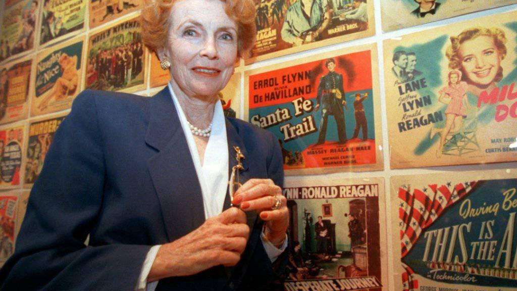 Joan Leslie, die in den 1940-er Jahren in Filmklassikern auftrat, starb 90-jährig in Los Angeles. (Archivbild)