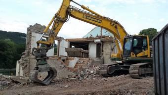 Am Standort des «Haus am Fahr» entsteht ein neues Zweifamilienhaus.