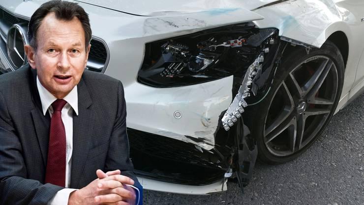 """FDP-Präsident Philipp Müller bedauert den Unfall und hofft auf """"die schnelle und komplette Genesung"""" der schwer verletzten Frau."""