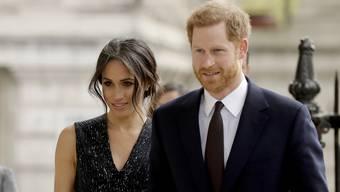 Meghan Markle und ihr Prinz Harry.