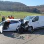 Fatale Folgen hatte dieser Unfall vor zwei Jahren bei Arisdorf für die Insassen des vorderen Autos. (Archiv)