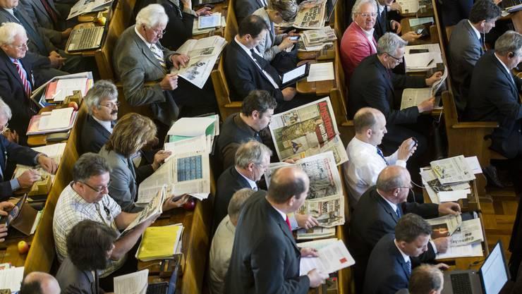 Der Zürcher Kantonsrat hatte heute viel zu tun (Archivbild)