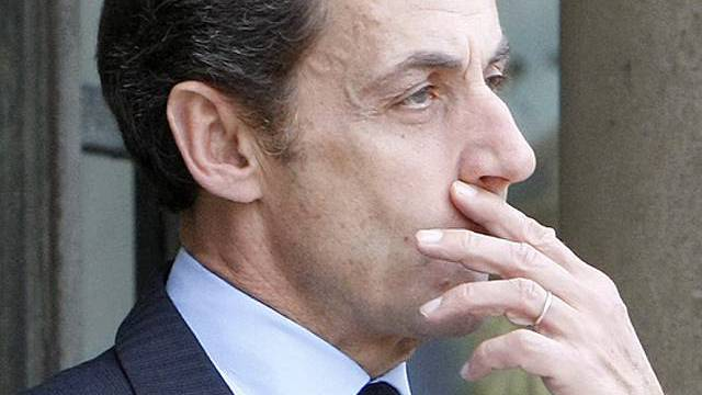 Unerfreuliche Umfragewerte: Frankreichs Präsident Sarkozy (Archiv)