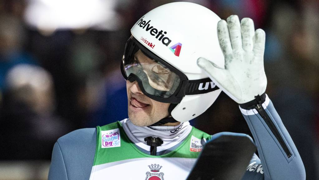 Abschied aus Engelberg mit einer Enttäuschung: Simon Ammann scheiterte im ersten Durchgang klar
