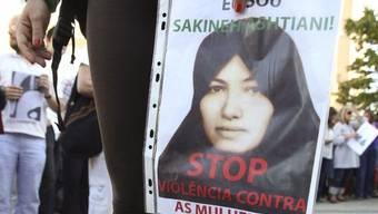 Demonstration gegen die Steinigung von Aschtiani (Archiv)