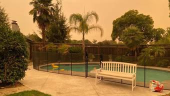 Der Himmel über San Jose war rot. Doch die Luft war besser als an manch anderem Tag.
