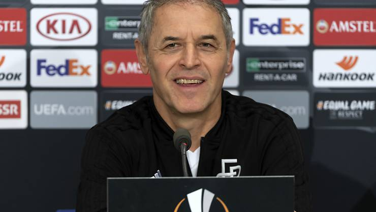 Basels Trainer Marcel Koller sieht vor dem Europa-League-Spiel gegen Getafe keine Baisse seines Teams