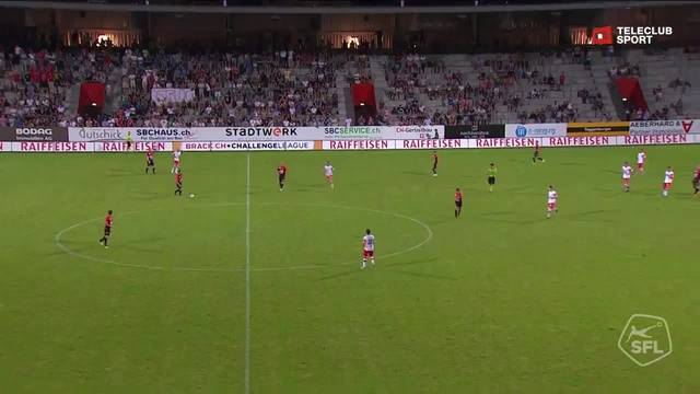 Challenge League 2018/19, 2. Runde, FC Winterthur - FC Aarau, 3:1 Mickael Almeida