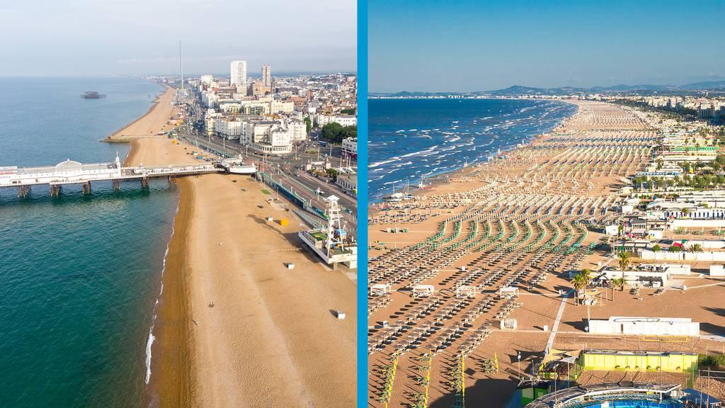 Brighton versus Rimini?
