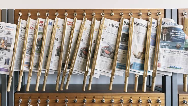 Der Bund zahlt im nächsten Jahr für die Zustellung von Regional- und Lokalpresseerzeugnissen 27 Rappen pro Exemplar - 2 Rappen mehr als bisher. (Archivbild)
