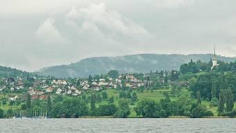 Blick auf Beinwil am See