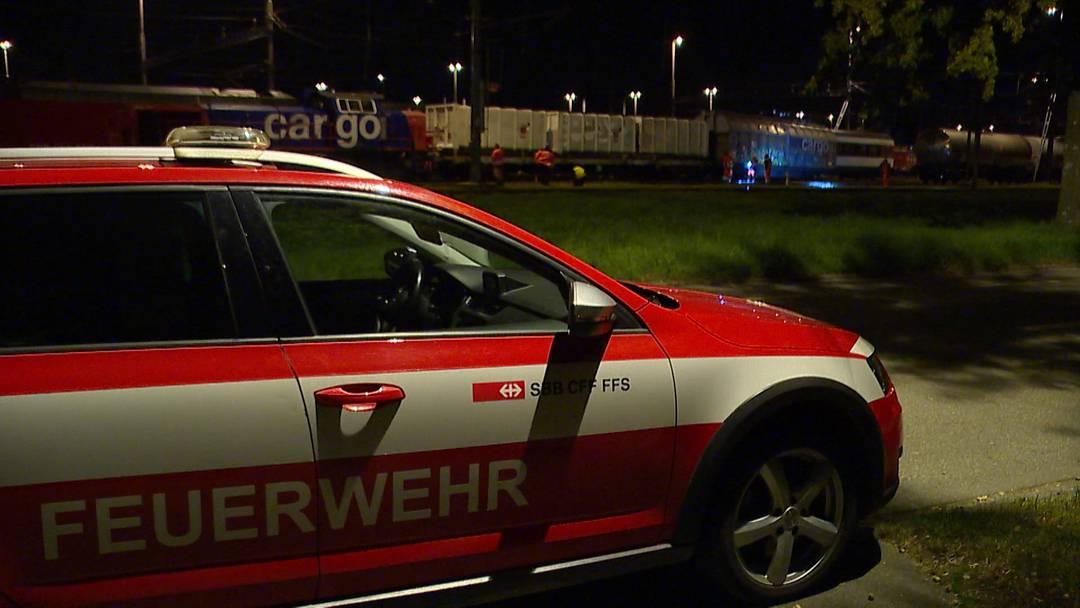 Romanshorn (TG): 22-Jähriger bei Rangierunfall verletzt