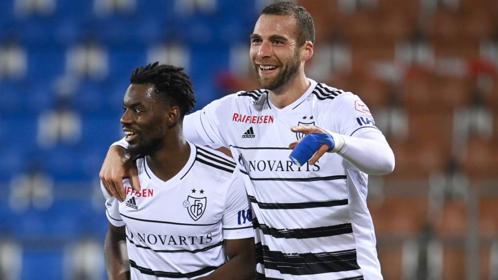Pajtim Kasami hat beim FC Basel derzeit gut Lachen: Auch gegen Vaduz führt er sein neues Team zum Sieg