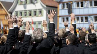 Die Appenzell Innerrhoder Landsgemeinde findet 2020 wegen der Coronakrise nicht statt (Archivbild, Landsgemeinde 2019).