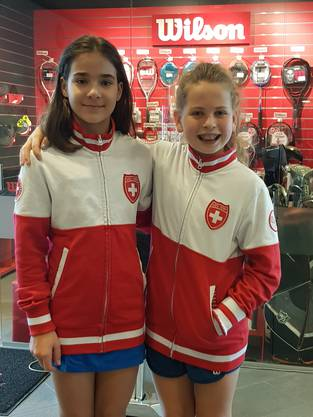 Lea Markovic und Alexandra Gasser (Vizemeisterin)