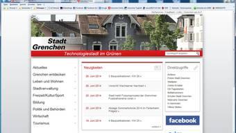 Die Homepage der Stadt soll keine sensiblen  Daten von Gemeinderäten enthalten