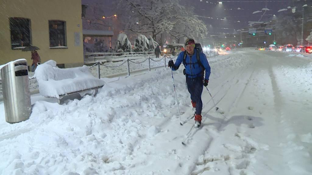Auf Skiern oder Schneeschuhen zur Arbeit: «Davon habe ich jahrelang geträumt.»
