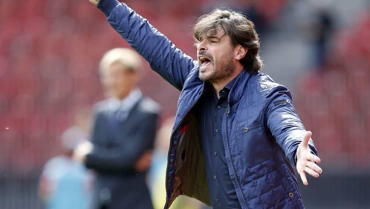Heute ist Ciriaco Sforza Trainer des FC Wil.