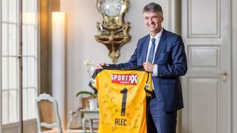 Alec von Graffenried: «Wir sind glücklich, wenn der SC Bern nächstes Jahr wieder Meister wird. Aber für den Rest der Saison konzentrieren wir uns auf YB.»