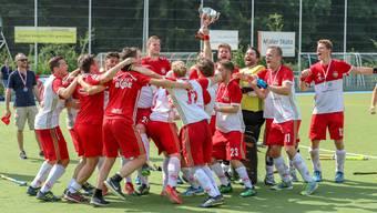 Der HC Rotweiss Wettingen ist Schweizer Meister 2018