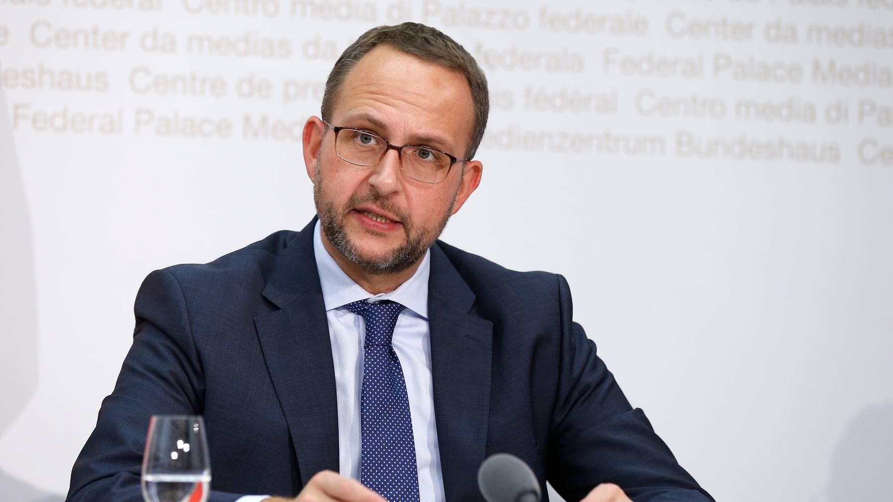 Nach Ansicht des Tessiner Regierungsrates Norman Gobbi spielte sein Kanton eine Vorreiterrolle in der Coronakrise.