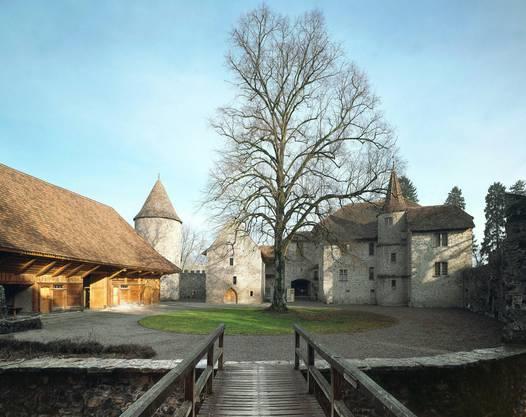 Schloss Hallwyl im Herbst