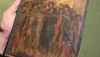 """Das kleine Gemälde des italienischen Vorrenaissance-Malers Cimabue ist in Frankreich offiziell ein """"nationaler Schatz"""". (Archivbild)"""